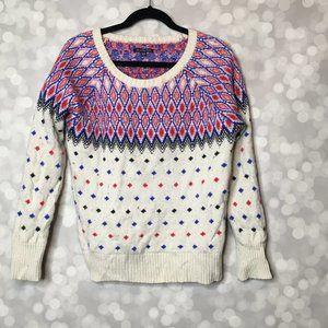 American Eagle Retro Wool Blend Sweater